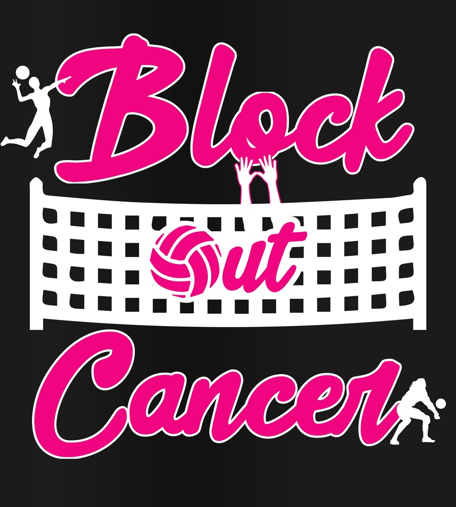 LHS Volleyball Block Out Cancer 2019-20