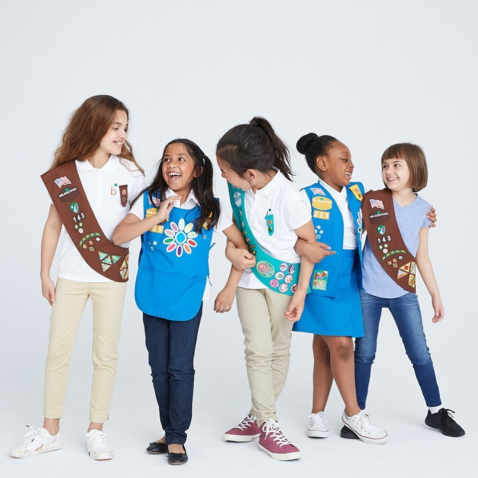 Girl Scout Program for girls in K - 12