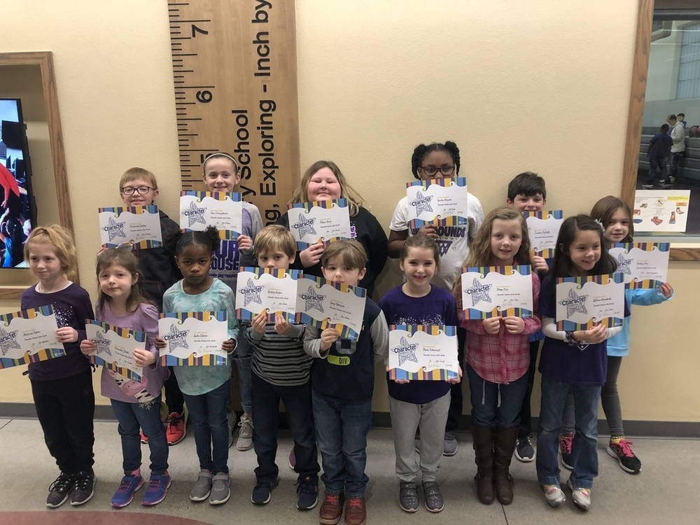 LES STUDENTS OF THE MONTH - DECEMBER