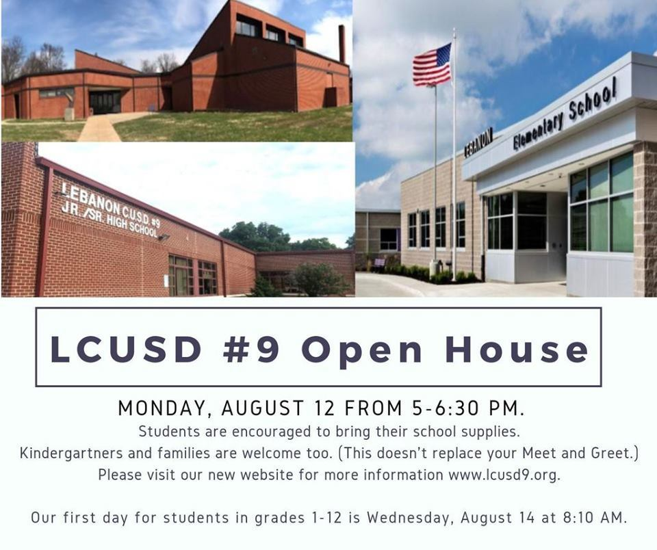 LCUSD #9 DISTRICT WIDE OPEN HOUSE