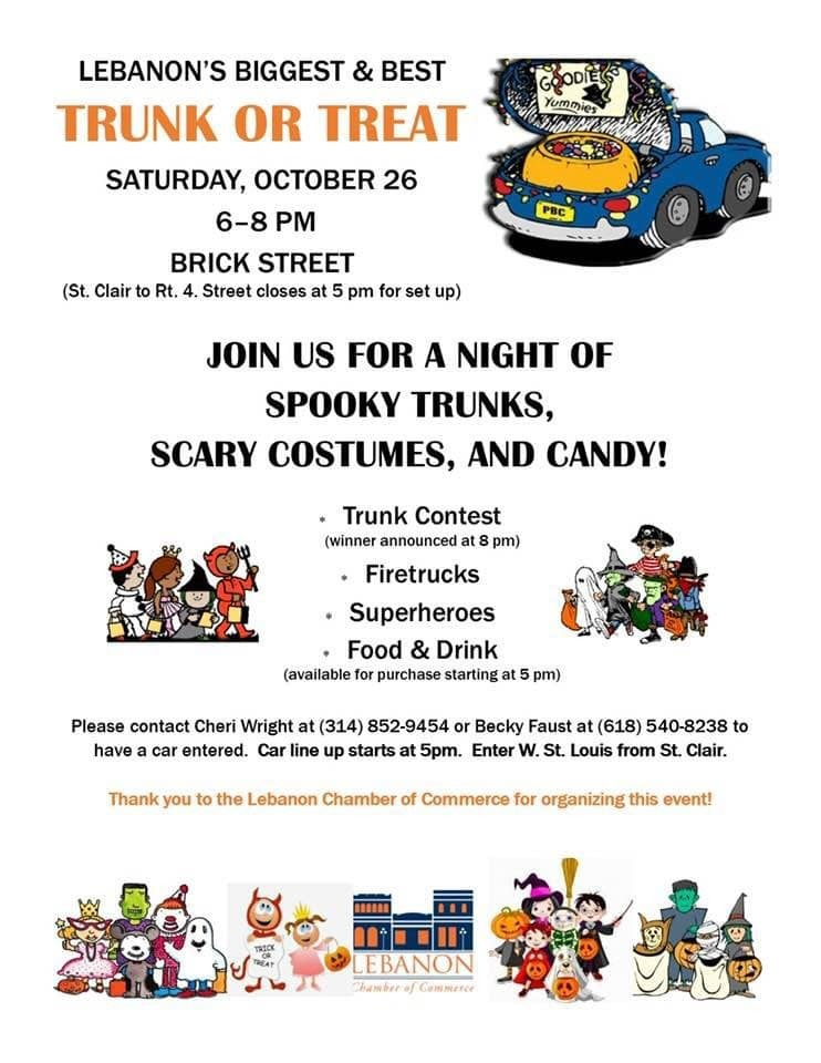 Chamber of Commerce hosts Trunk or Treat
