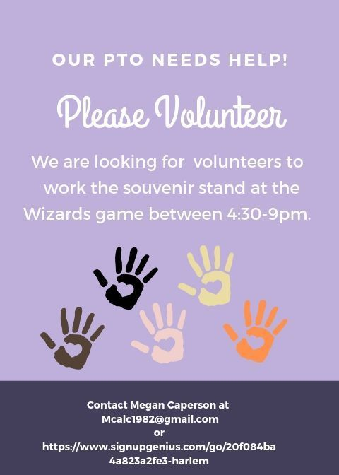 Volunteers are needed