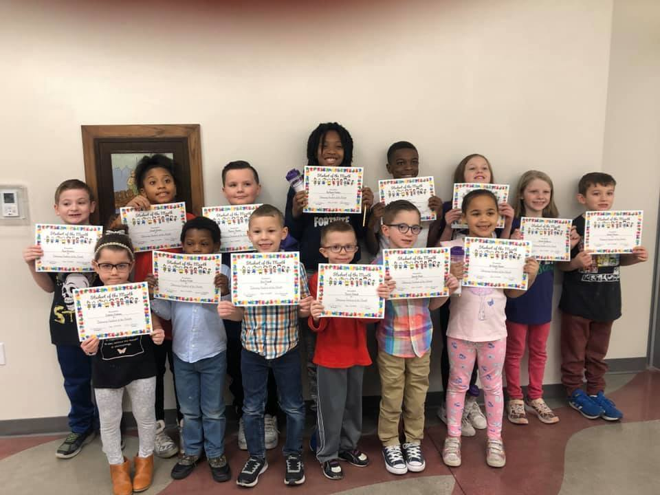 Students of the Month for February