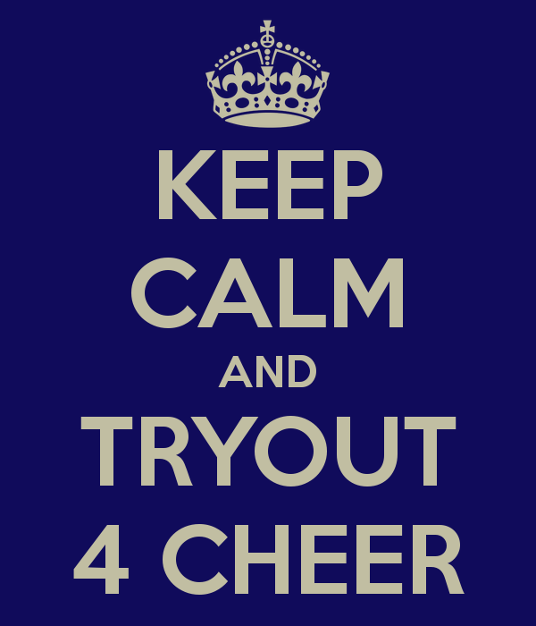 Info on HS Cheerleading Tryouts