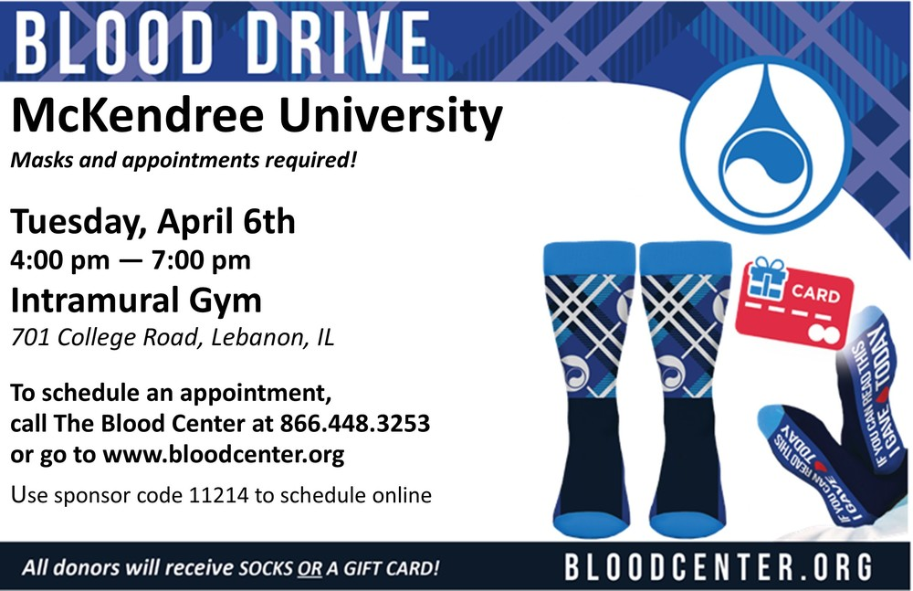 McKendree Blood Drive