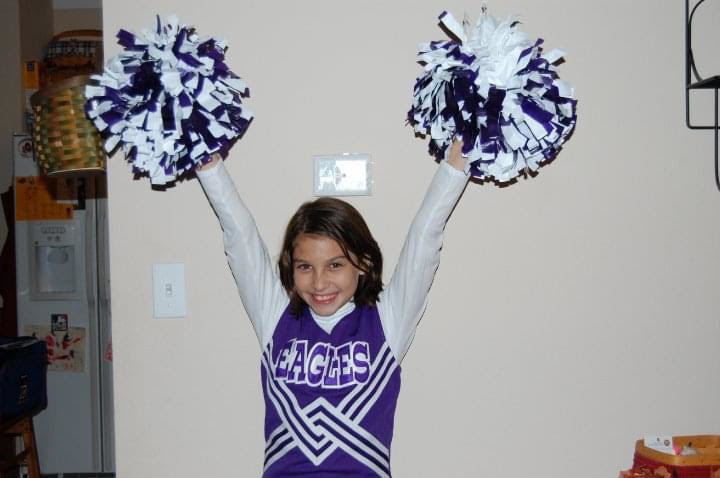 Kristin in JH Cheer