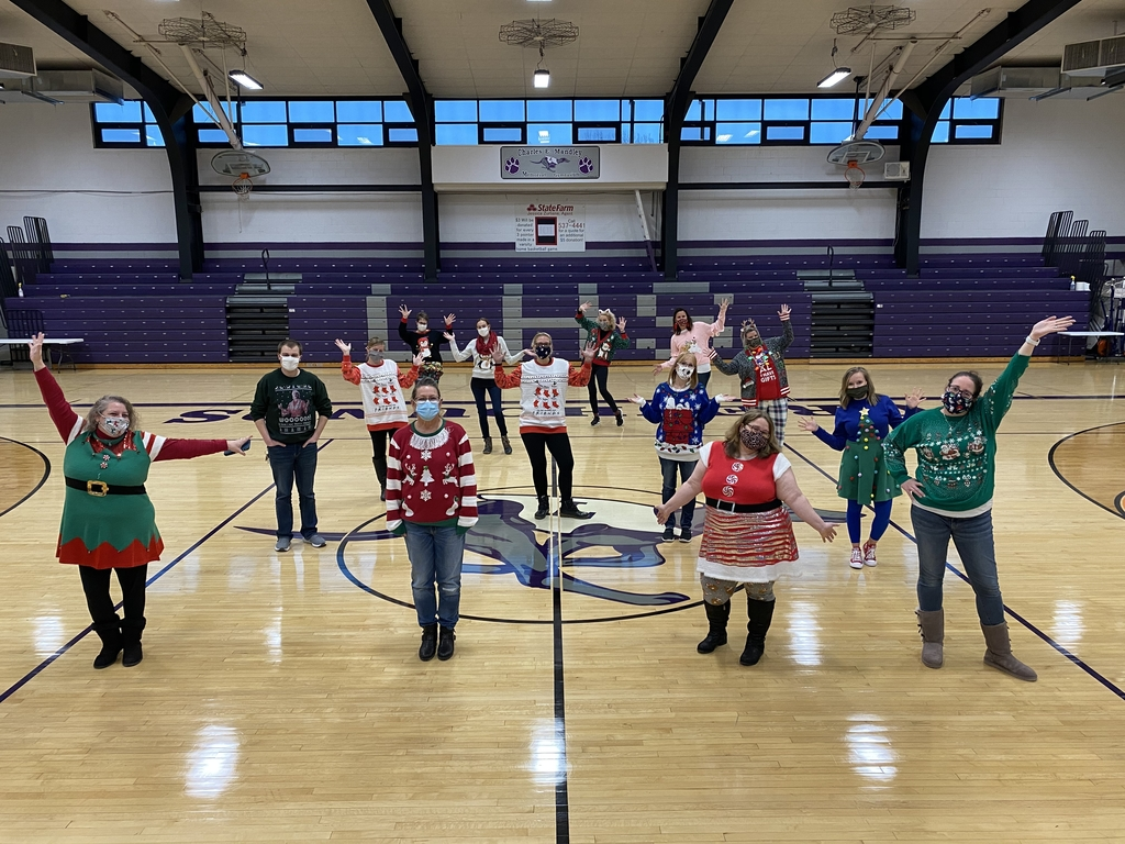 Jrh and Hs ugly sweater day