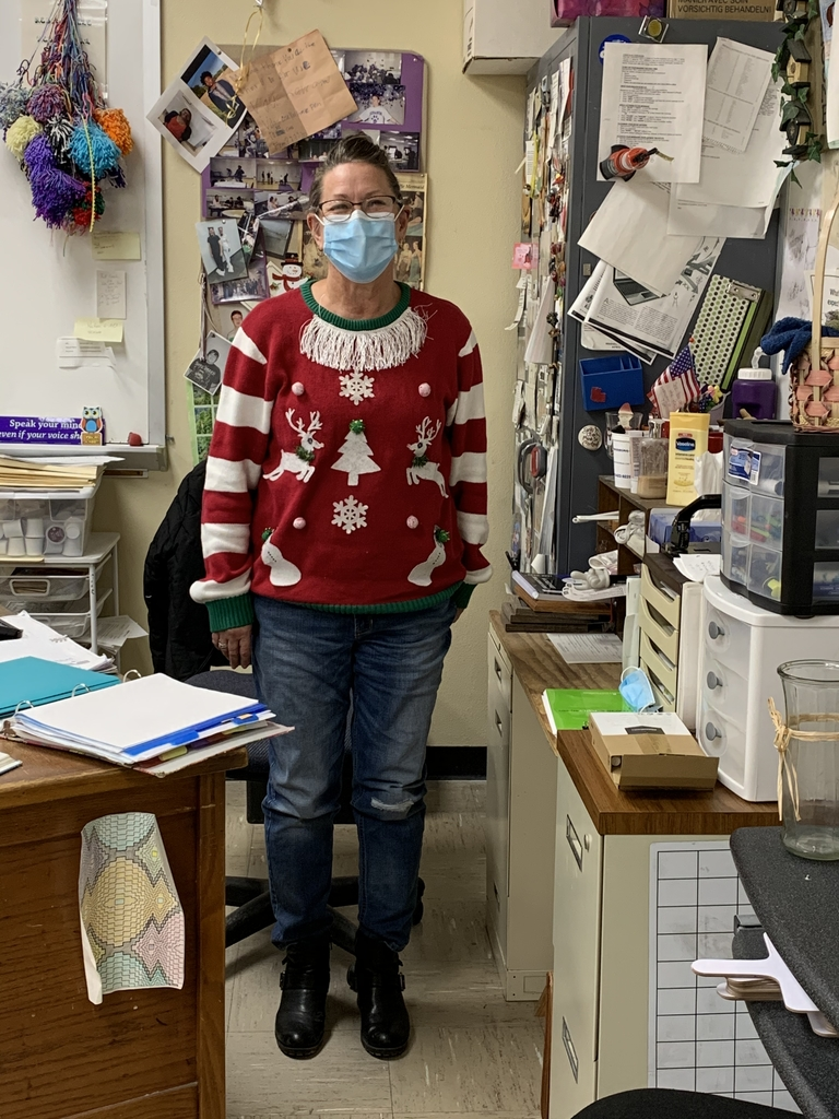 Holiday Spirit Week-Ugly Holiday Sweater Day