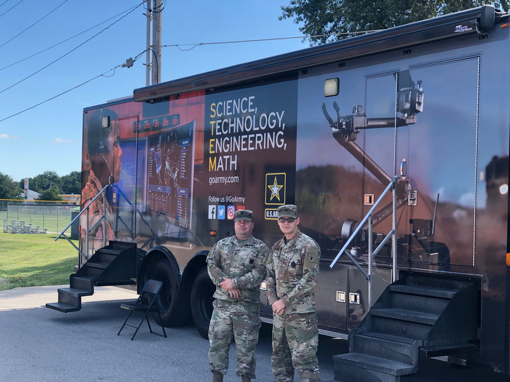 Army STEM trailer