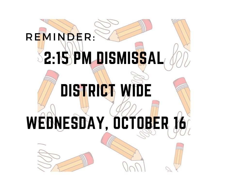 Early Dismissal Announcement